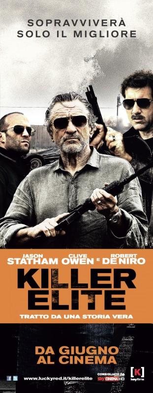 Killer Elite: una delle locandine italiane del film