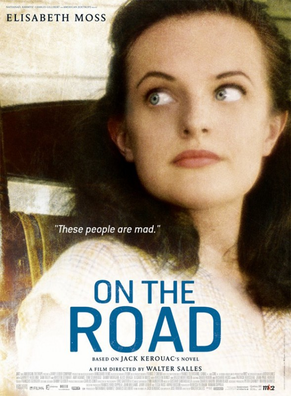 On the Road: character poster di Elisabeth Moss