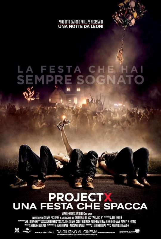 Project X - Una festa che spacca: la locandina italiana del film