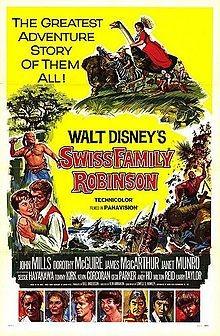 Robinson nell'isola dei corsari: la locandina del film