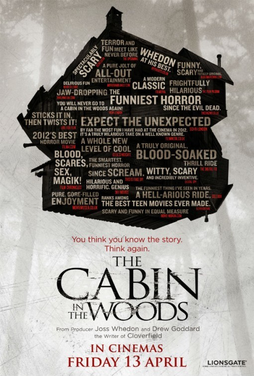 The Cabin in the Woods: nuovo poster USA