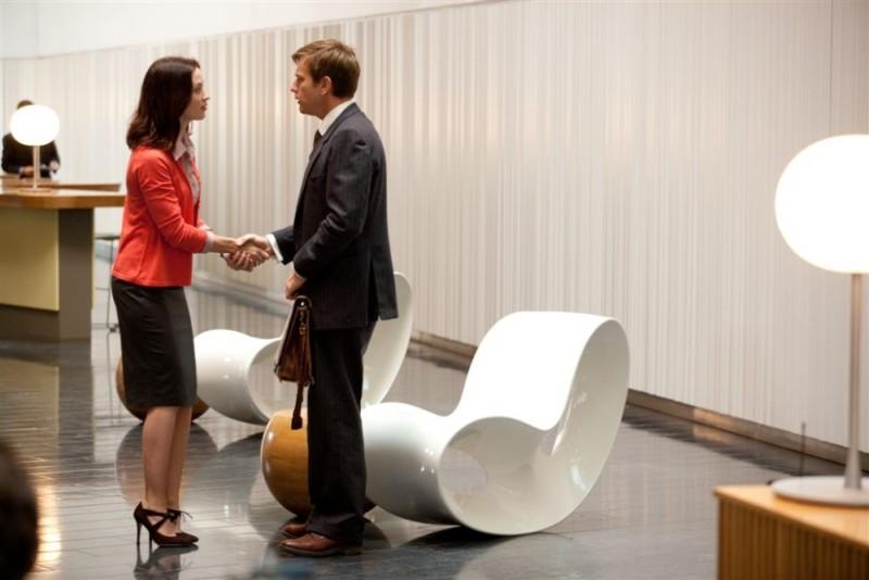 Ewan McGregor con Emily Blunt ne Il pescatore di sogni