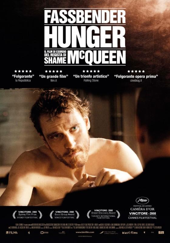Hunger: la locandina italiana del film