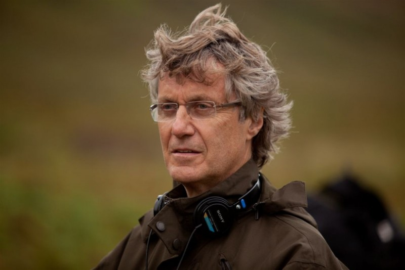 Il pescatore di sogni: il regista Lasse Hallström sul set del film