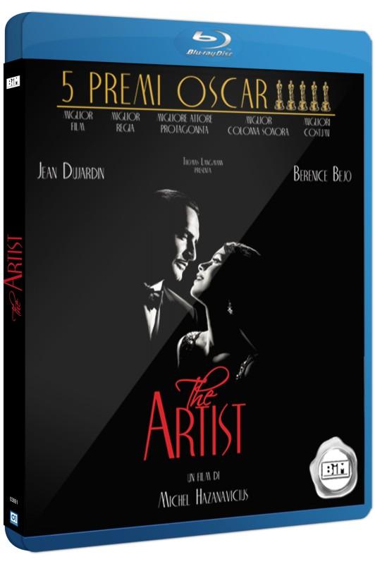 La copertina di The Artist (blu-ray)