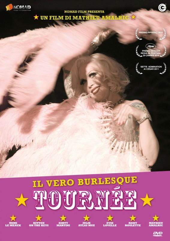 La copertina di Tournée (dvd)