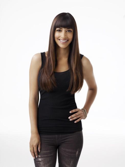 New Girl: Hannah Simone nel ruolo di Cece, modella di origini indiane