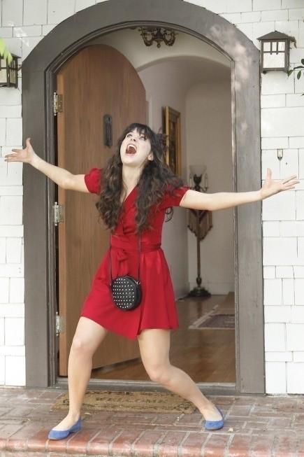 New Girl: Zooey Deschanel nell'episodio Criptonite