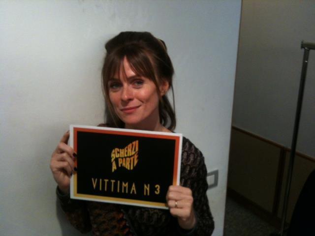 Scherzi a Parte: Serena Autieri è una delle vittime dell'edizione 2012