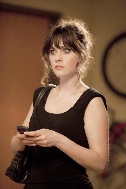 Zooey Deschanel nel primo episodio di New Girl, 'Jess'