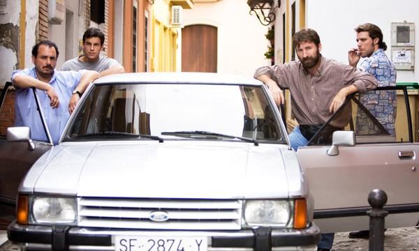 Antonio De La Torre in Grupo 7 con Mario Casas e gli altri protagonisti del film