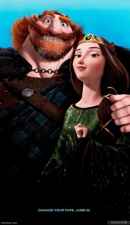 Brave: Character Poster 2
