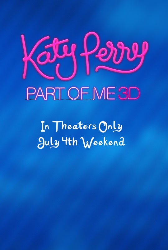 Katy Perry: Part of Me: la locandina del film