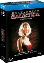 La copertina di Battlestar Galactica - Stagione 1 (blu-ray)
