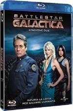 La copertina di Battlestar Galactica - Stagione 2 (blu-ray)