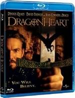 La copertina di Dragonheart (blu-ray)