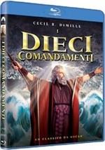 La copertina di I dieci comandamenti (blu-ray)