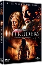 La copertina di Intruders (dvd)