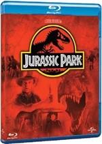 La copertina di Jurassic Park (blu-ray)