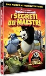 La copertina di Kung Fu Panda - I segreti dei maestri (dvd)