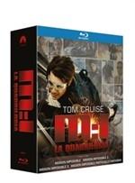 La copertina di Mission: Impossible - La quadrilogia (blu-ray)