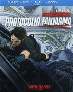 La copertina di Mission: Impossible - Protocollo Fantasma (blu-ray)