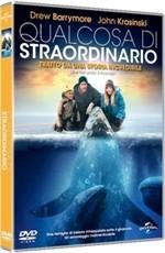 La copertina di Qualcosa di straordinario (dvd)