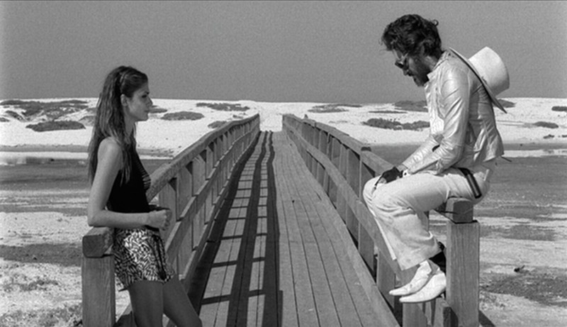 La leggenda di Kaspar Hauser: Vincent Gallo ed Elisa Sednaoui in una scena