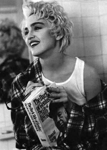 Madonna fotografata da Bruce Weber nel 1986