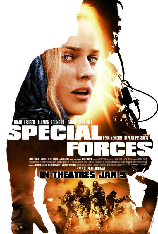 Special Forces: il poster internazionale del film