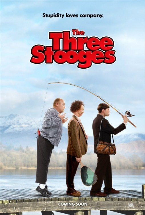 The Three Stooges: ecco una simpatica locandina