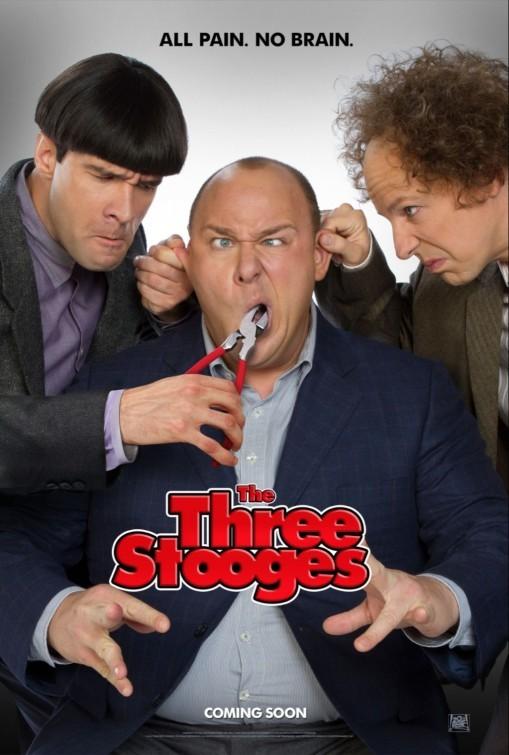 The Three Stooges: la locandina del film