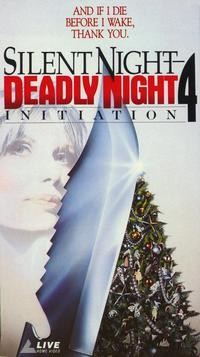 Initiation: Silent Night, Deadly Night 4: la locandina del film