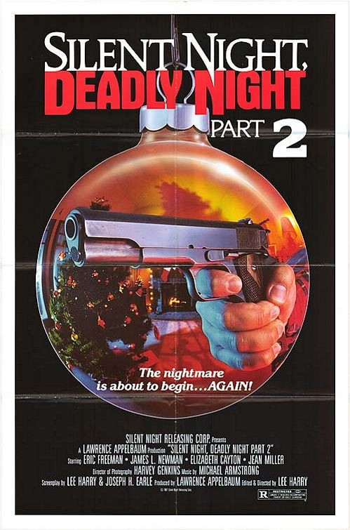 Silent Night, Deadly Night Part 2: la locandina del film
