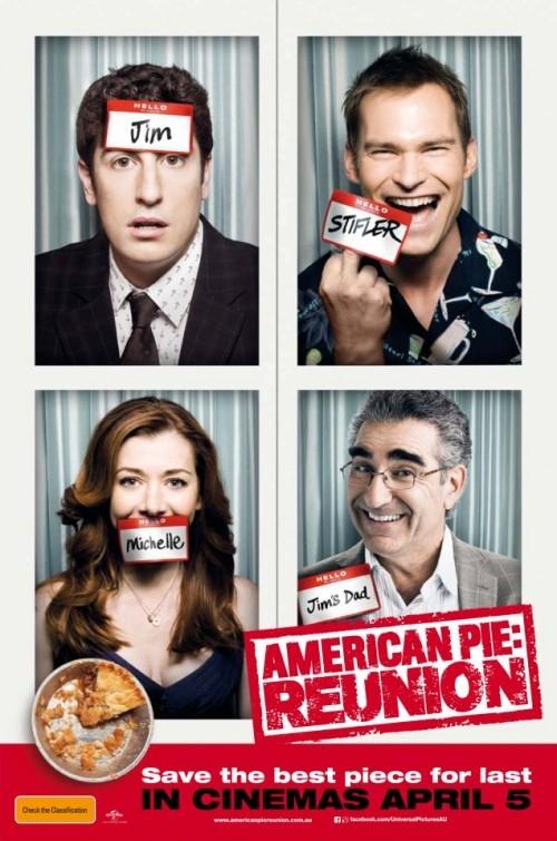 American Reunion: poster australiano