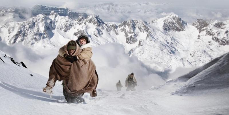 Djimon Hounsou e Diane Kruger in una 'fredda' scena di Special Forces