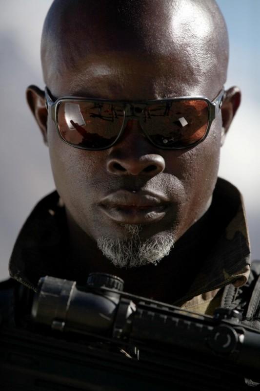 Djimon Hounsou in un'immagine di Special Forces nei panni del comandante Kovax