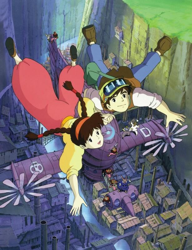 Il castello nel cielo: una bellissima immagine tratta dal film