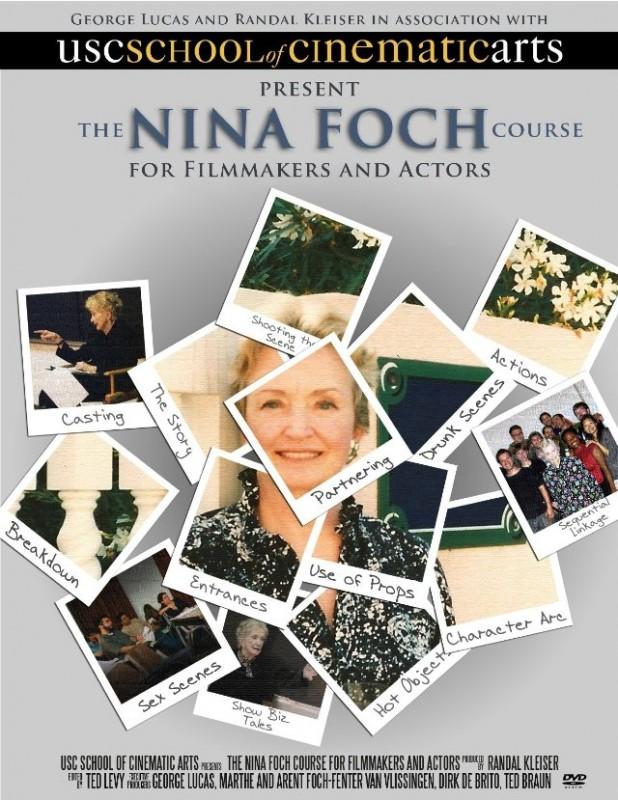 The Nina Foch Course for Filmmakers and Actors: la locandina del film