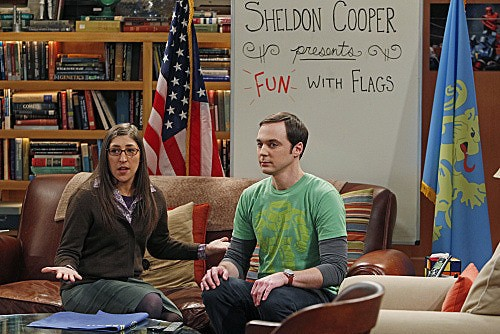 The Big Bang Theory: Jim Parsons e Mayim Bialik nell'episodio The Beta Test Initiation