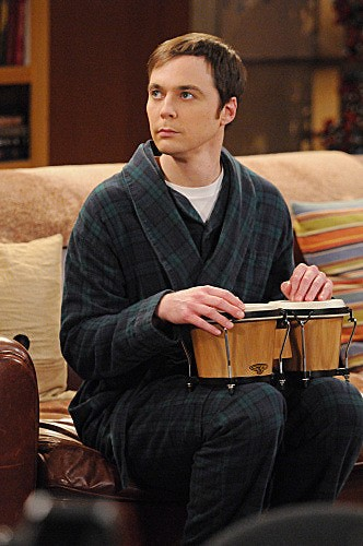 The Big Bang Theory: Jim Parsons in una scena dell'episodio The Werewolf Transformation