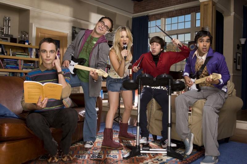 The Big Bang Theory: una foto promozionale della seconda stagione