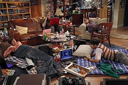 The Big Bang Theory: una scena dell'episodio The Weekend Vortex