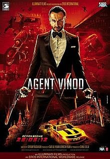 Agent Vinod: la locandina del film