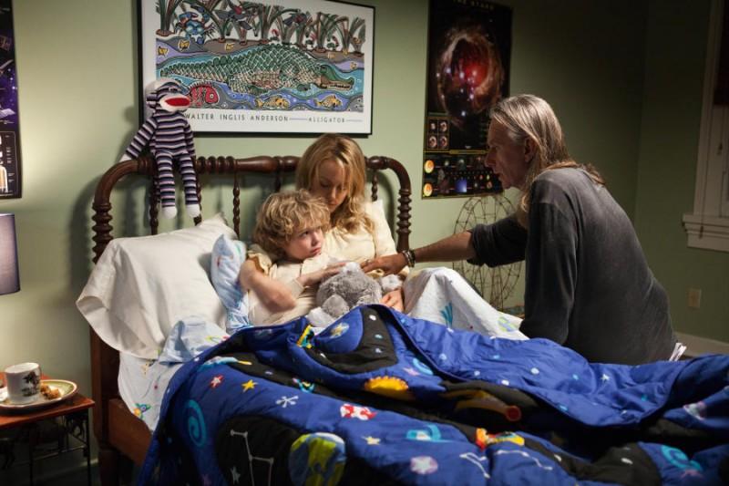 Ho cercato il tuo nome: Taylor Schilling insieme al piccolo Riley Thomas Stewart e al regista Scott Hicks sul set del film