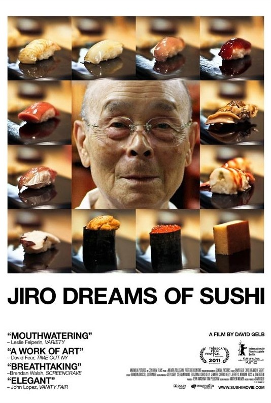 Jiro Dreams of Sushi: la locandina del film