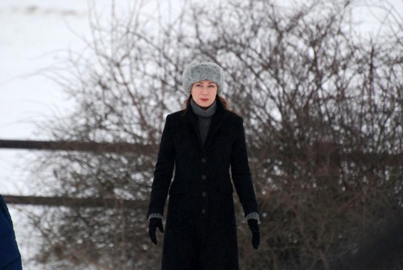 Magdalena Grochowska in una scena della fiction Zodiaco - Il libro perduto