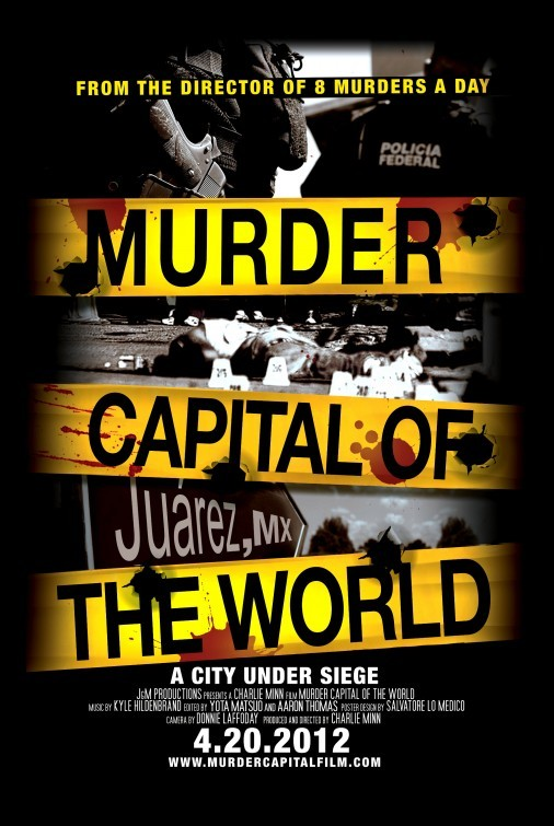 Murder Capital of the World: la locandina del film