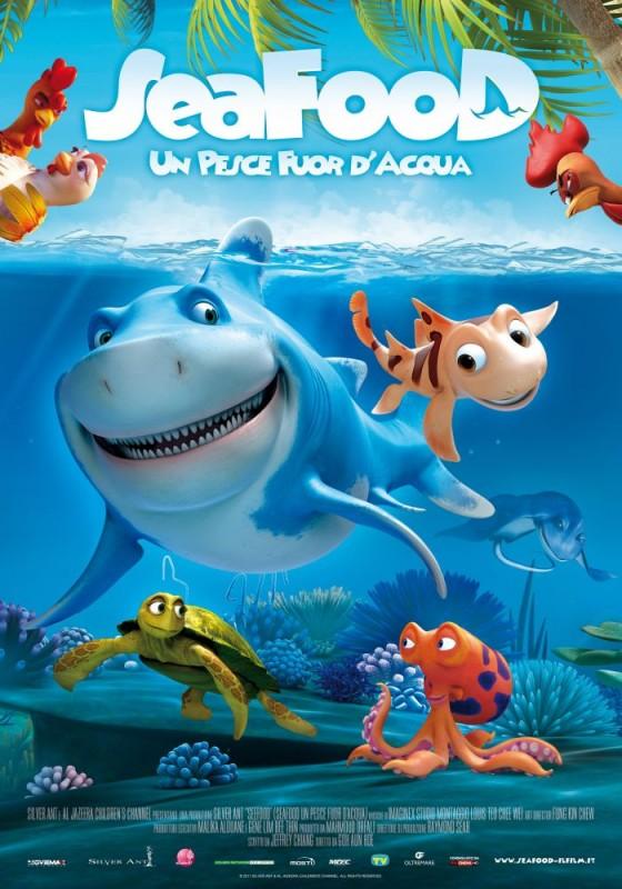 Seafood - Un pesce fuor d'acqua: la locandina italiana
