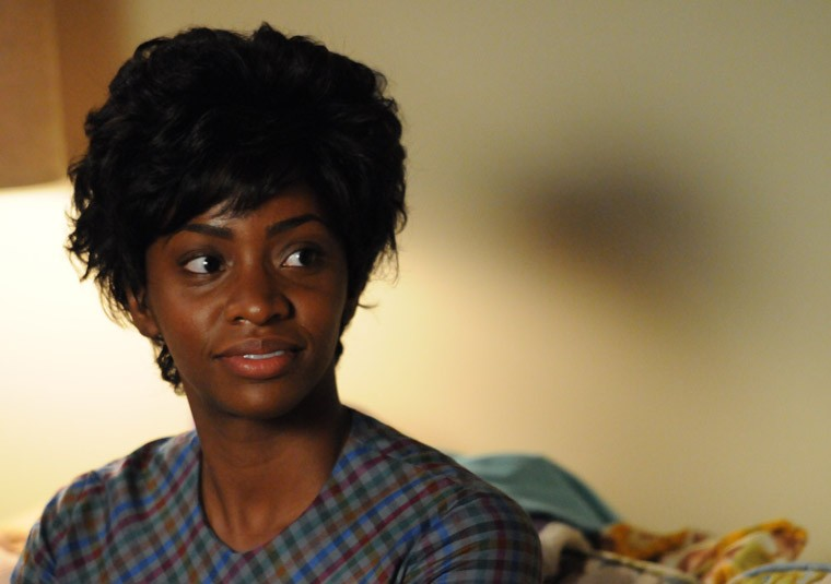 Teyonah Parris nell'episodio Mystery Date della quinta stagione di Mad Men